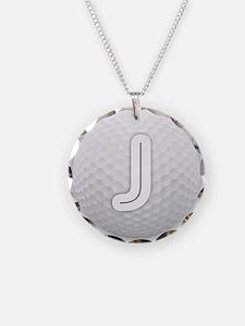 J Golf Ball - Monogram Golf Necklace
