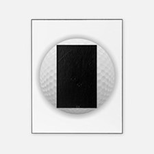 J Golf Ball - Monogram Golf Ball - M Picture Frame