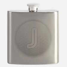 J Golf Ball - Monogram Golf Ball - Monogram Flask