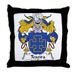 Texeira Family Crest Throw Pillow