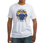 Texeira Family Crest Fitted T-Shirt