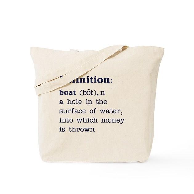 boat definition tote bag by fullmoonemp