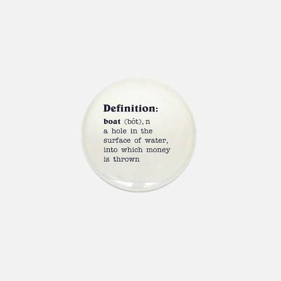 Boat Definition Mini Button