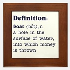 Boat Definition Framed Tile