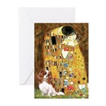 The Kiss & Cavalier Greeting Cards (Pk of 20)