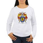 Tena Family Crest Women's Long Sleeve T-Shirt