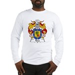 Tena Family Crest Long Sleeve T-Shirt