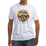 Tena Family Crest Fitted T-Shirt