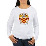 Tarrega Family Crest Women's Long Sleeve T-Shirt