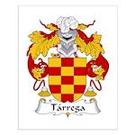 Tarrega Family Crest Small Poster