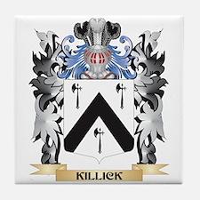 Killick Coat of Arms - Family Crest Tile Coaster