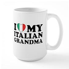 I Love My italian Grandma Mug
