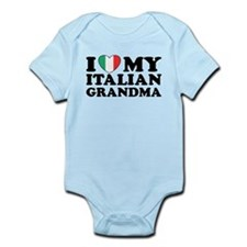 I Love My italian Grandma Infant Bodysuit