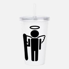 Unique Sports clips Acrylic Double-wall Tumbler