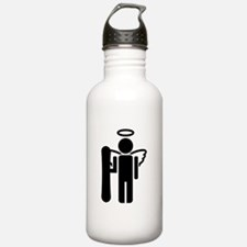 Funny Sports clips Water Bottle