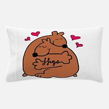 bear hugs Pillow Case
