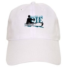 board or die snowboarder Baseball Baseball Cap
