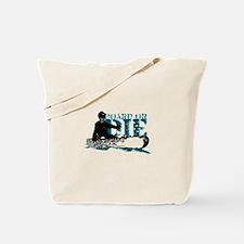 board or die snowboarder Tote Bag