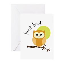 Hoot Hoot Greeting Cards