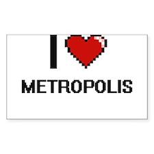I Love Metropolis Decal