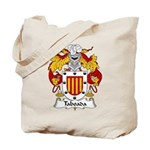 Taboada Family Crest Tote Bag
