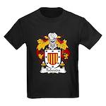 Taboada Family Crest Kids Dark T-Shirt