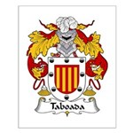 Taboada Family Crest Small Poster