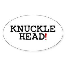KNUCKLEHEAD! Decal