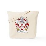 Sousa Family Crest Tote Bag