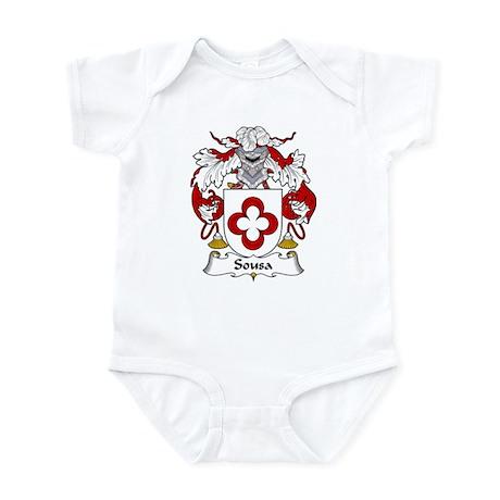 Sousa Family Crest Infant Bodysuit