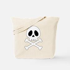 Galactic pirate skull Tote Bag