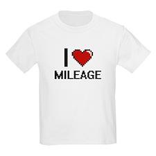 I Love Mileage T-Shirt