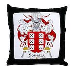 Somoza Family Crest Throw Pillow