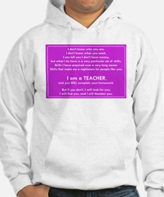 I will find you Do Your Homework Hoodie
