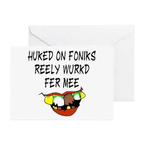 Redneck Phonics Greeting Cards (Pk of 10)