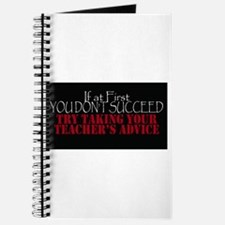If At First You Dont Succeed Take Teachers Journal