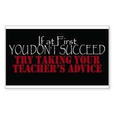 If At First You Dont Succeed Take Teachers Decal