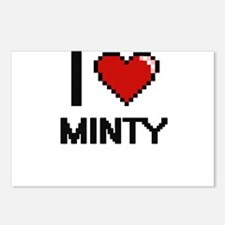 I Love Minty Postcards (Package of 8)