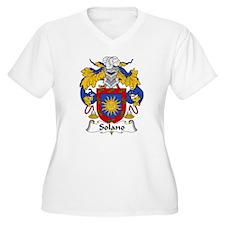 Solano Family Crest T-Shirt