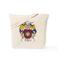 Solano Family Crest Tote Bag