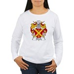 Silvela Family Crest Women's Long Sleeve T-Shirt