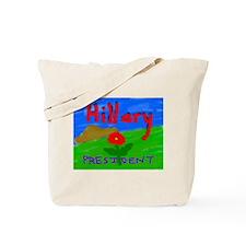 Hillary President Tote Bag