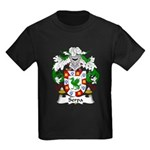 Serpa Family Crest Kids Dark T-Shirt