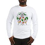 Serpa Family Crest Long Sleeve T-Shirt