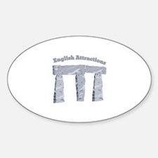 English Attractions Decal