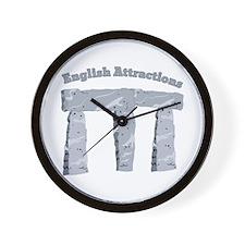 English Attractions Wall Clock