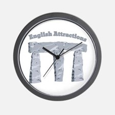 English Attractions Wall Clock