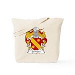 Semper Family Crest Tote Bag