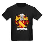 Semper Family Crest Kids Dark T-Shirt