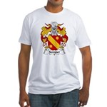 Semper Family Crest Fitted T-Shirt